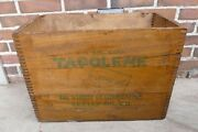 Rare Vintage 1920s/1930s Skelly Tagolene Ford Motor Oil Can Wood Crate Box