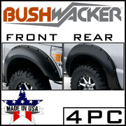 Bushwacker Front And Rear Pocket Style Fender Flares Fit 2007-2014 Chevy Tahoe