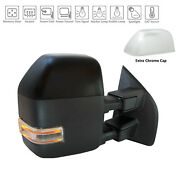 Primer Finish/chrome Right Side Door Mirror For 17-19 Ford Superduty Hc3z17682ma