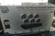 Night Owl Full Hd 1080p 16-channel, 6 Cameras Wired Security System1tb Dvr New