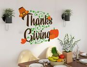 Fun And Festive Thanks Giving Custom Wall Decals 3d Wall Stickers Art Ka1255