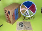 As-is Rotating Color Wheel Aluminum Christmas Tree Compco Colormagic Prop W/box