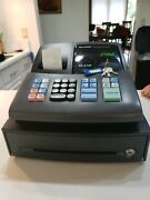 Sharp Xe-a106 Electronic Cash Register With Key And Manual - Tested And Works