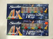 Mini Bubble Lights Sienna Tested And Works 2 Boxes Of 10