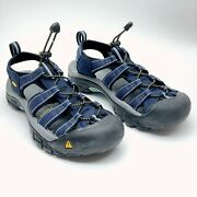 Keen Womenand039s Newport H2 Navy/grey Water Hiking Sandals Trail Shoes Us 8.5 Uk 6