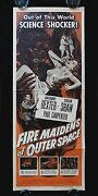 Fire Maidens Of Outer Space Cinemasterpieces Original Movie Poster Horror 1956