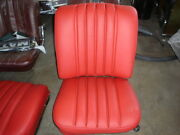 W111 Mercedes Front Seat Covers 220se250se280se300se 61-71 Imported Leather