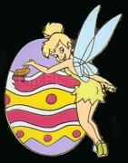 Disney Tinker Bell Painting An Easter Egg Surprise Pin