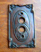 New Storybook Castle Push Button Light Switch Plate