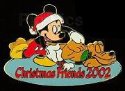 Disney Auctions Christmas Set Mickey Mouse And Pluto Le Pin
