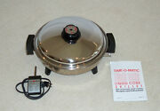 Karenware / Time-o-matic 12.5 Oil Core Waterless Electric Skillet By West Bend