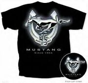 Mustang 45th Anniversary Ford Fox Body Coupe T Shirts