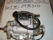 Mopar 04863793 4863793 Fuel Injection Pump 2.5l Oem