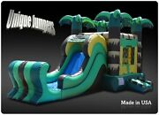 Inflatable Bounce House Jumper Combo With Slide