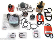 15 Piece 3.4l Engine Timing Belt Kit Water Pump Genuine And Oe Manufacture Parts