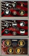 2007-s Us Mint Silver Proof Set With Presidential Dollars 14 Gem Coins W/box