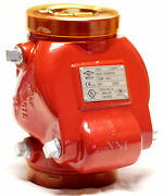 4 Swing Check Valve Grooved Ends 300psi Ul/fm - Fire Protection