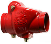 3 Check Valve Groove X Groove 300psi Ul/fm - Fire Protection