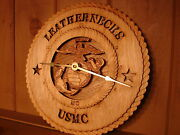 Laser Crafted Gift Award Tribute Clocks Military / Fire / Law Enforcement