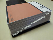 Case 970/1070 Tractor Service Manual Repair Shop Book New With Binder