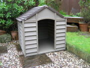 Large Dog Kennel Br Durable Plastic Winter House Is Not The Smaller One