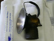 Super Early Coal Miners Carbide Lamp Trade Justrite Made In Usa Pat Applied For