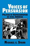 Voices Of Persuasion By Michael E. Staub English Paperback Book Free Shipping