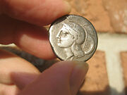 Ancient Greek Coin Lucania Velia Silver Stater/didrachm C.440-280 Bc