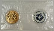 1973 Bicentennial Commemorative Medal And First Day Stamp Cover Samuel Adams