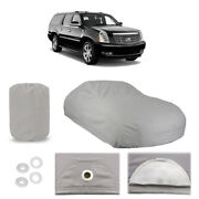 Cadillac Escalade 4 Layer Car Cover Fitted Outdoor Water Proof Rain Sun Dust
