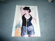 Beth Hart Sexy Signed Autograph In Person 8x11 20x28 Cm