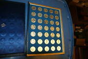 Franklin Mint Presidential Commemorative Coin Medals Silver