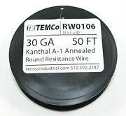 Kanthal A-1 Wire 50 Ft Spool - 30gauge Rw0106