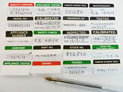 Write And Seal Tamper Evident Passed Tested Electrical And Calibrated Labels