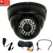 700tvl Security Camera Wide Angle Len With Sony Effio Ccd Ir Audio Cable Mic Mjm