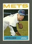 1964 Topps 202 Galen Cisco - New York Mets - Nm - Free Shipping
