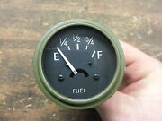 Jeep Mb Gpw 6 Volt 6v Fuel Gauge Cj2a Cj3a G503 Best Gauge Available