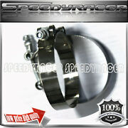 2 X 3 Stainless Turbo Intake Intercooler Silicone T-bolt Clamps Coupler