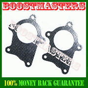 T3 T4 Turbo Down Pipe Gasket 5 Bolt T3/t4 T04e Downpipe Drag Boost Psi 1 Pair