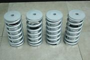 For 88-00 Civic Intergra Lowering Coilovers Sleeves Adjustable Springs Silver