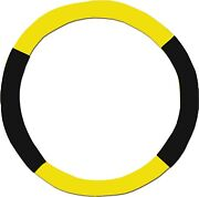 Yellow And Black Steering Wheel Cover - Like Seat Covers - Or Choose Colors