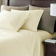 Extra 2 Types Ivory Sheets Bedding Patterns 1000tc Pure Cotton----10-30 Pockets