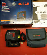 Bosch Gpl 3 Self Leveling Laserl@@k Preowned Never Used Fast Shipping