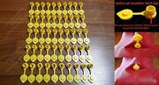 50 Yellow Vent Caps Gas Fuel Can Midwest Blitz Wedco Briggs Scepter Heavy Duty