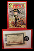 Walking Dead 103 Variant Signed 398/1000 Chris Giarusso W/ Df Coa Sealed Nm/m