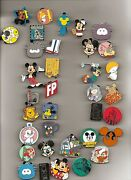 Disney Pins 75 Different Pins Fast Usa Seller Cl Le Hm And Cast Pins Mixed Lot