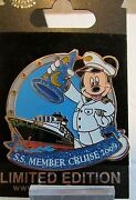 Disney Cruise Line Disney Vacation Club S.s. Dvc Member Cruise Dcl Pin
