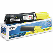 Epson Part S050187 Yellow Toner Cartridge Oem 4000 Pages [office Product]
