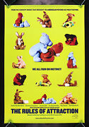 The Rules Of Attraction Cinemasterpieces Banned Original Movie Poster 2002