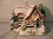 Lilliput Lane Christmas Lights At The Bell Inn 2001 The British Collection L2485